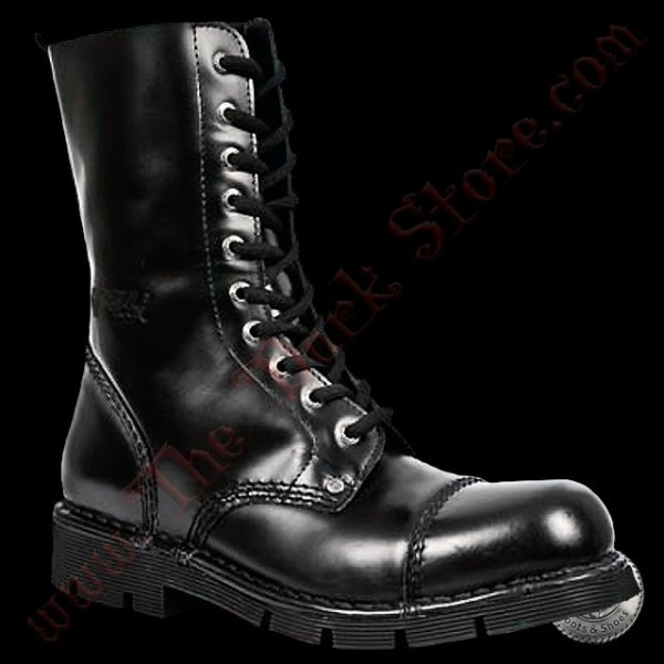New Rock 'Black Punk Boots' (NEWMILI10-S1)