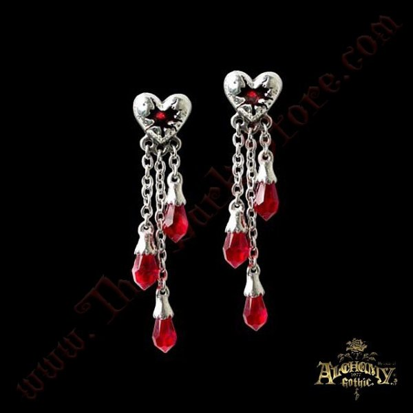 Boucles d'oreilles 'Bleeding Heart'
