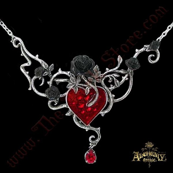 Pendentif 'Bed Of Blood-Roses'