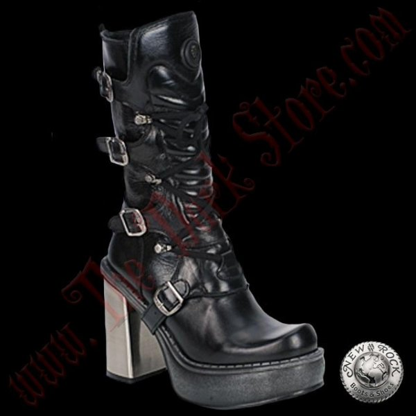 Bottines Femmes New Rock Vegan Acero (9973-VC11)