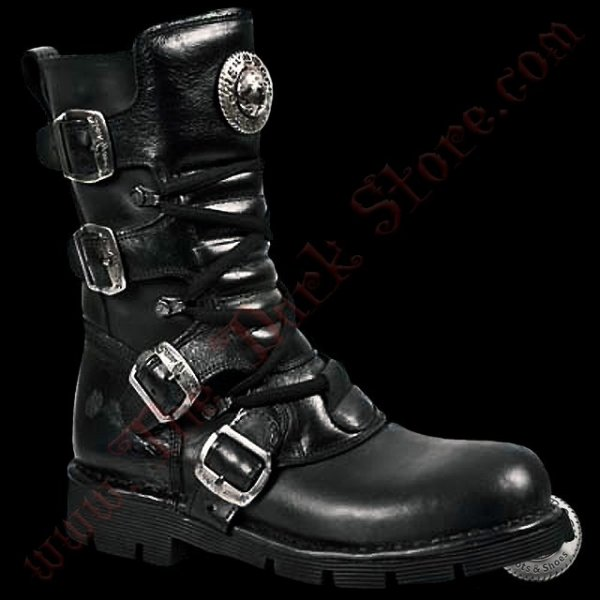 New Rock Black Comfort-Vegan (1473-V1)