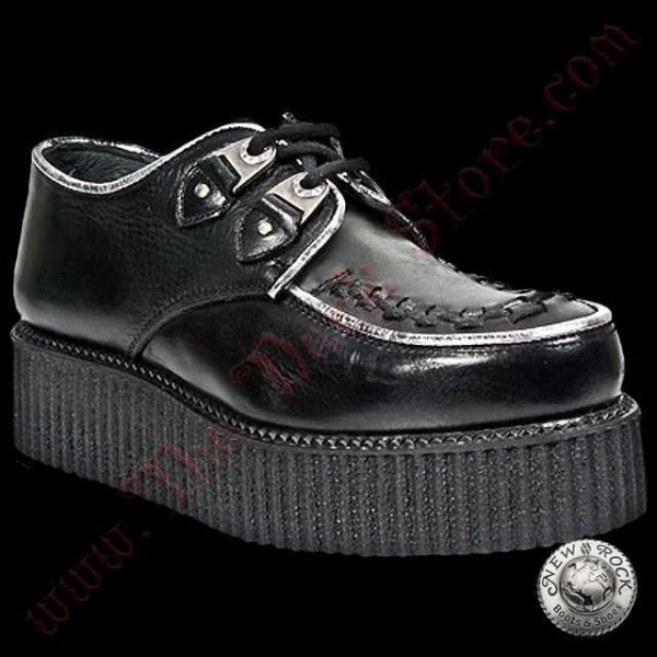 New Rock Black Creepers (2415-S1)