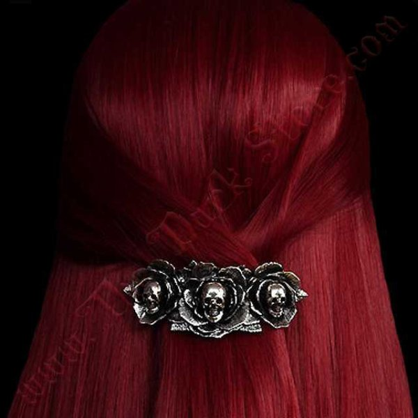 Barrette cheveux 'DARK WONDERLAND'