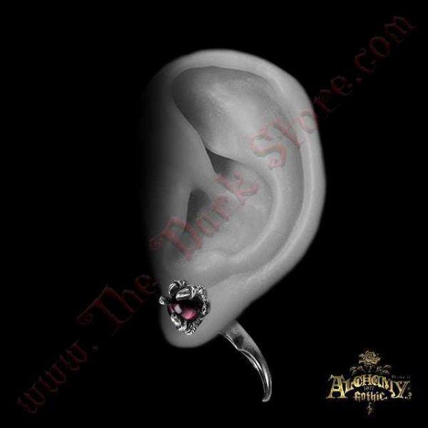 Faux Ecarteur d'oreille 'Dragon's Orb Claw'