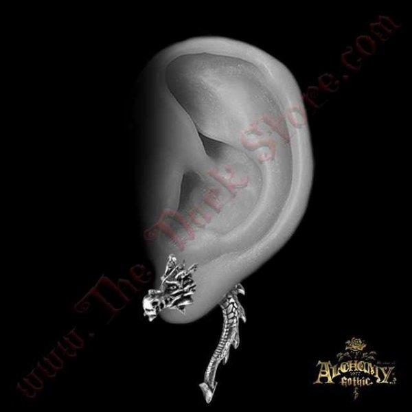 Faux Ecarteur d'oreille 'Tor Dragon'