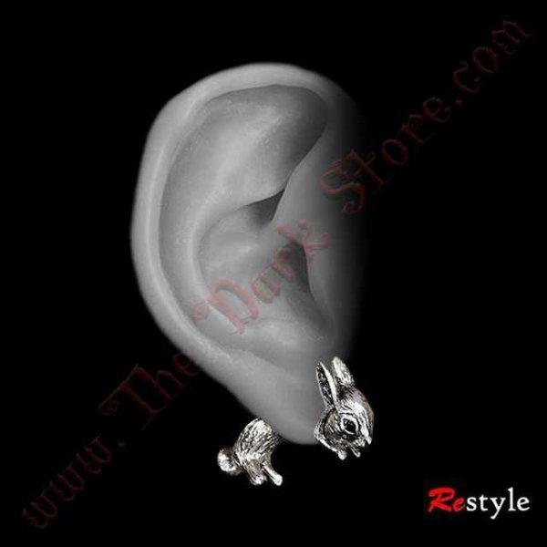 Boucles d'oreilles 'RABBITS'