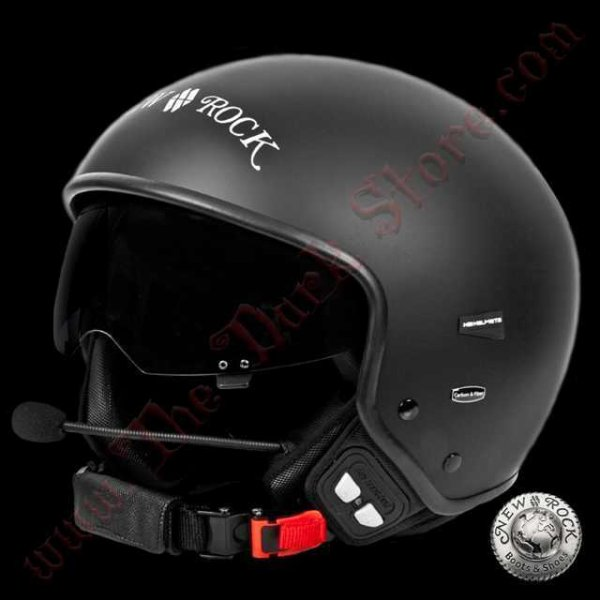 Casque de Moto Bluetooth New Rock (HELMET019B-S1)