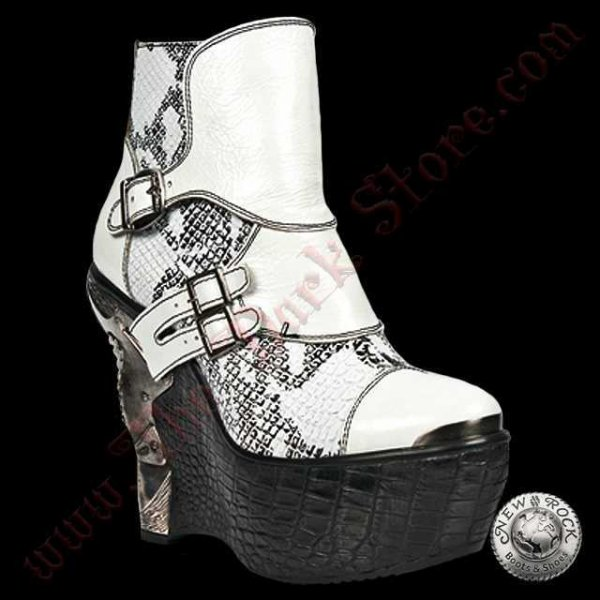 Bottines Femmes White Snake (PZ001-L3)