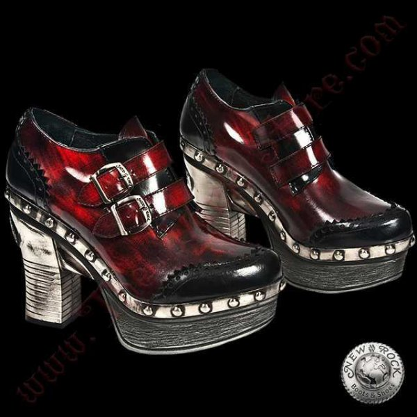 Bottines Femmes Zueco Red Patent (Z016-L3)