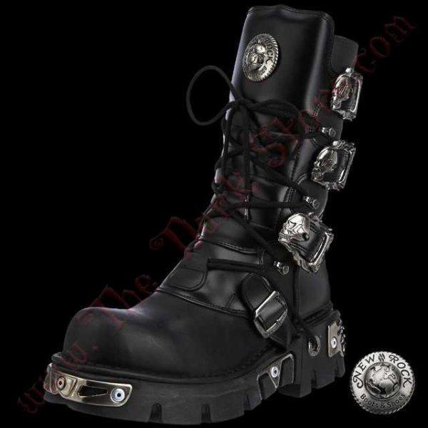 New Rock Vegan Boots (391-VC1)