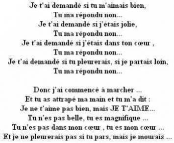 Jolie Poeme D Amour Hey La Famiille