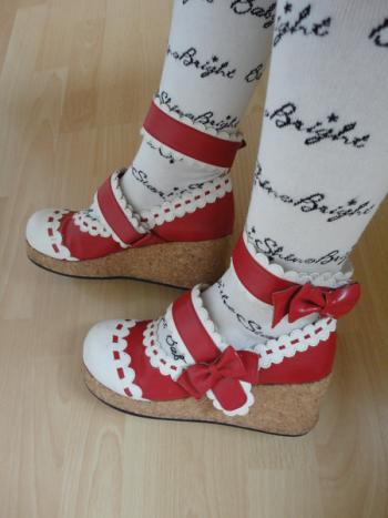 Chaussures Replica Gothic Lolita Angelic Pretty pointure 37 :)