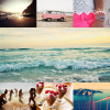Summer pictures - Sélection + mise en page.