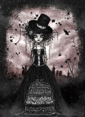 ... la ptite fille des bois....(devrais-je rajouté mystérieuse petite fille des bois ???!!!)
