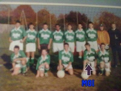 Mon équipe en U15(Arrou)