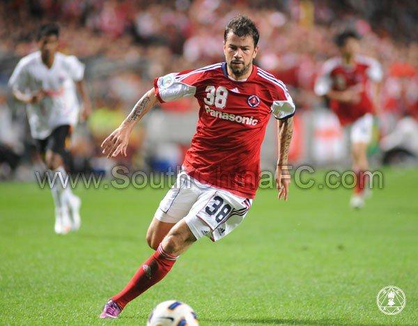 Mateja Kezman marque en AFC cup.