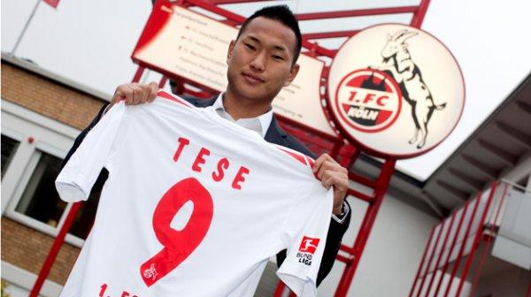 Chong Tese a signé à Cologne en Bundesliga.