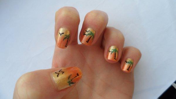 Nail art vacances