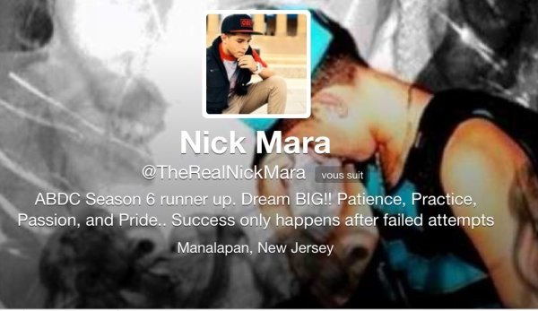 Mikey et Nick me follow ! Yeahhhh !