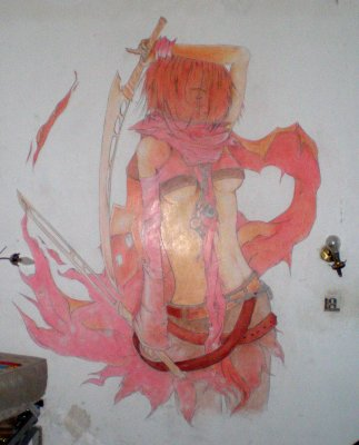 Dessin mural fini dessin de seb for Dessin mural