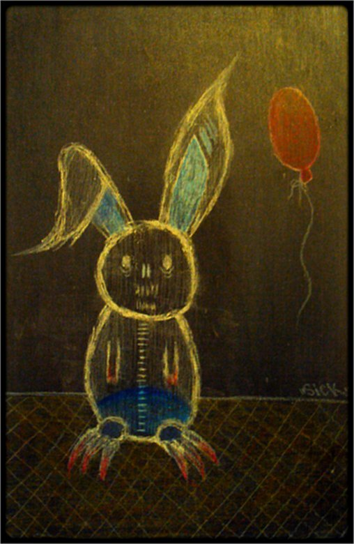 Creepy Rabbit.