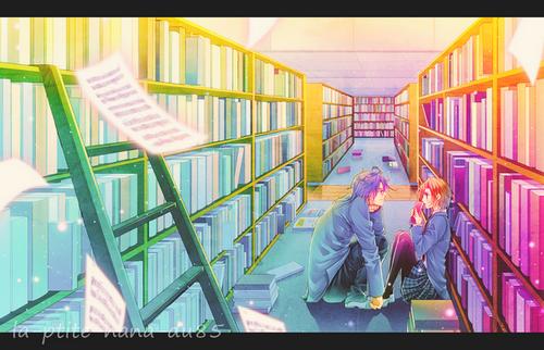 """""""-Bon blabla avec tes livres!   -Clara, je t'ais déjà dit que je ne parle pas aux livres. D'ailleurs, personne ne le fait..."""""""