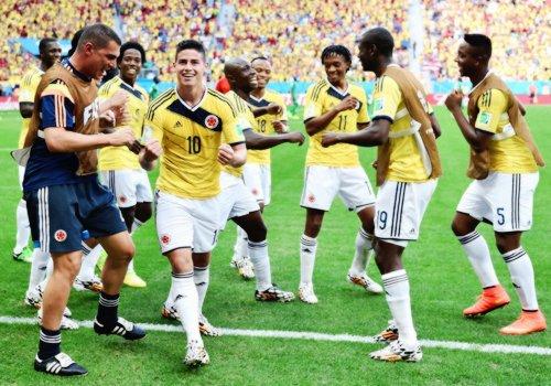 Mondial 2014 : la Colombie passe