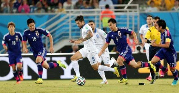 Mondial 2014 : le Japon et la Grèce en sursis