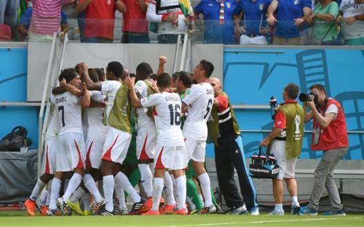 Mondial 2014 : le Costa Rica sort l'Angleterre