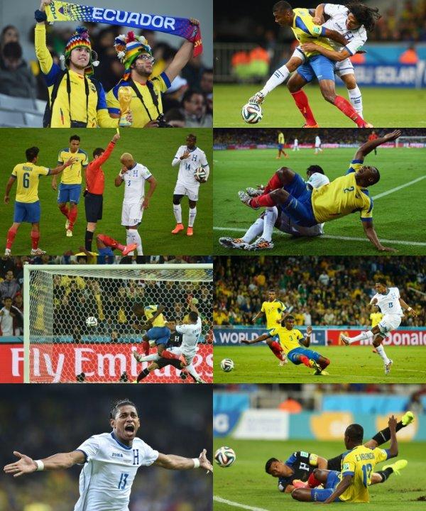 Mondial 2014 : l'Equateur gagne, la France presque en 1/8
