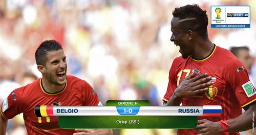 Mondial 2014 : la Belgique souffre mais passe