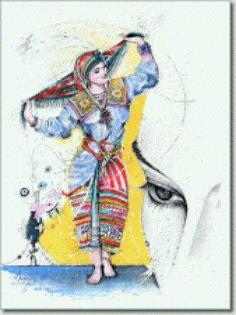 Femme Kabyle 2