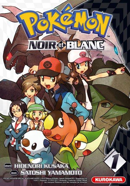 Pokémon Noir et Blanc Tome1