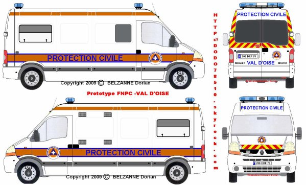 Fnpc v hicules de secours - Comment dessiner un camion de pompier ...