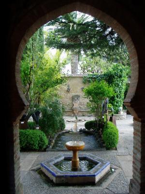 Petit Jardin Dun Petit Palais Arabe Le Monde De Ion Ion - Jardin-arabe