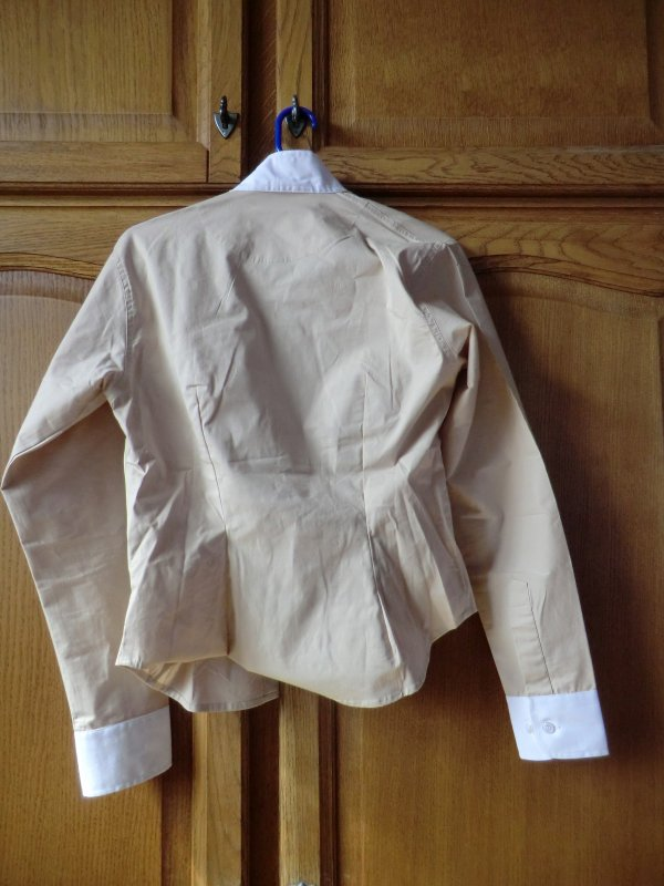 chemise concours beige