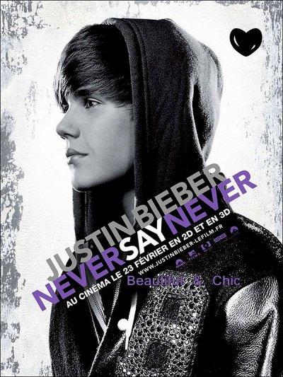 """Le Film """"Never Say Never"""" Dans Les Salles Francaises Le 23 Fevrier 2011 ♥"""
