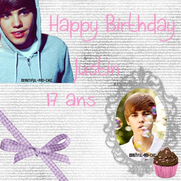 01.03.2011 :D Anniversaire de Bieber ♥