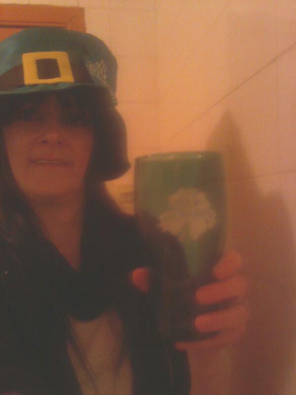 Un autre chapeau pour la fête des irlandais lolll