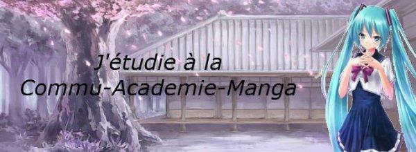 Bannière+Lien de la Commu-Academie-Manga!