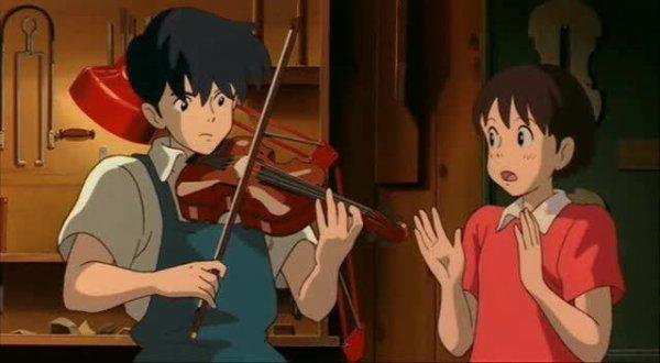 Si tu tends l'oreille - Studio Ghibli