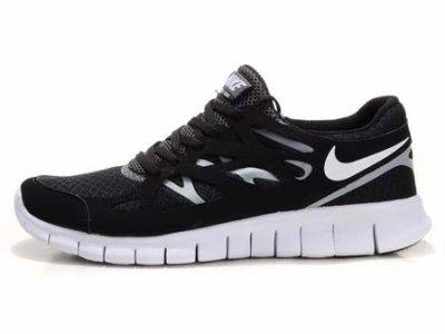 8cab6a8b52b0 Nike Free Run + 2 Running Shoes 2011 Black White running shoes ...