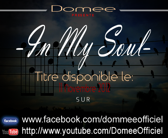 "Morceau ""In My Soul"" Disponible Le 11 Novembre 2012"