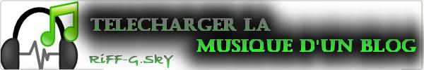 Télécharger Un Morceau D'un Skyrock Blog Music