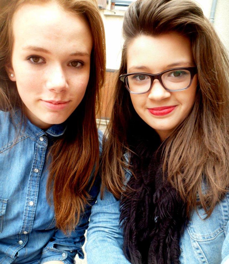 une meilleure amie c'est une soeur que la vie a oublié de vous donné. ♥