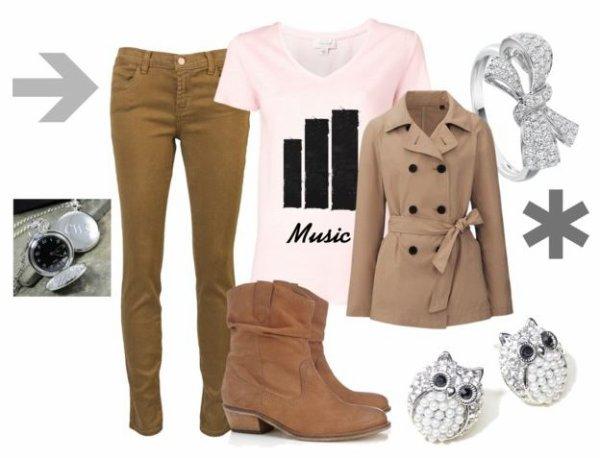 Idée de tenue pour l'hiver !