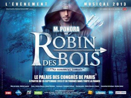 News ! Nouvelle comédie musicale : Robin des bois !