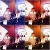 ❤ Mix photos ❤ Clari & ruggero a la radio + une photo de quelques acteurs avec une fan ❤