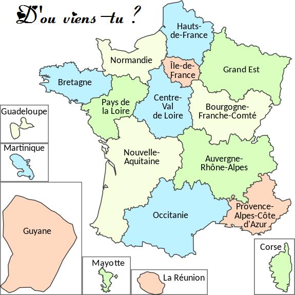 D'où viens-tu ?
