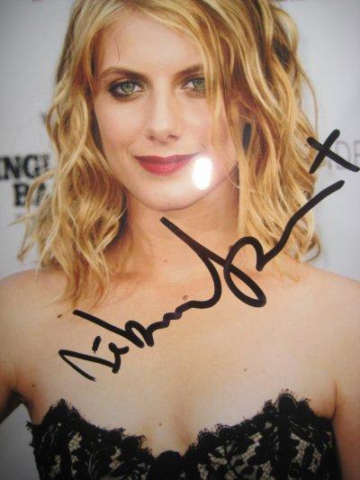 Autographes Melanie Laurent